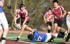 Rugby battles tough SLUH squad