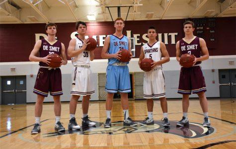 Basketball unveils new uniforms