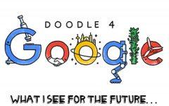 Design class enters Doodle 4 Google competition