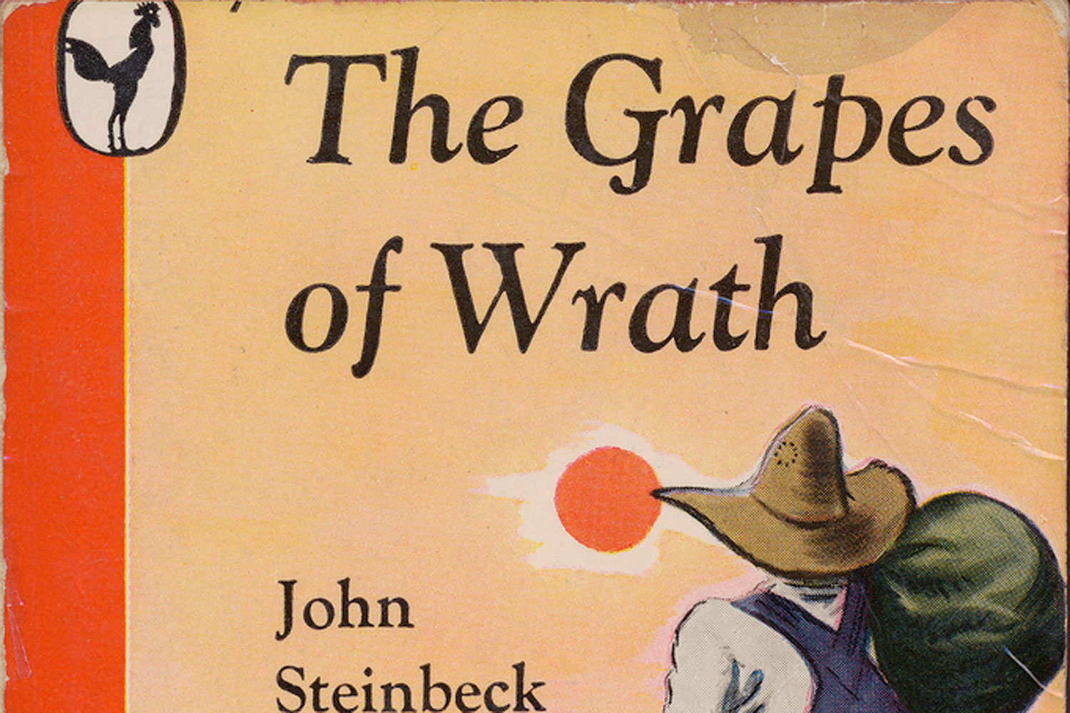 what it means to be human in grapes of wrath a novel by john steinbeck Grapes of wrath definition is - an unjust or oppressive situation  from the grapes of wrath (1939), novel by john steinbeck born 1902, american novelist.