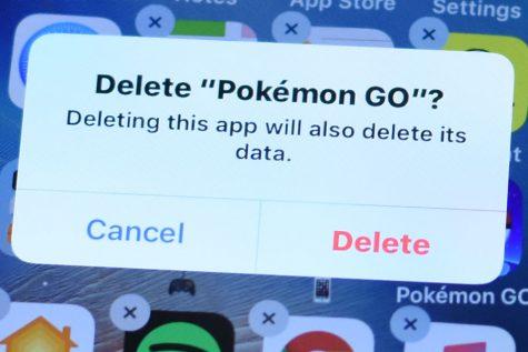 Pokémon going, going gone