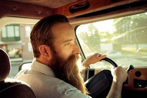 Jack Grelle 06' on the cover of his album Steering Me Away