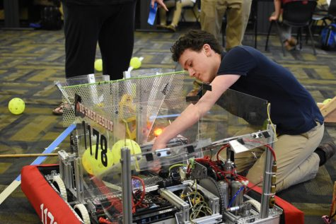 Robotics team gears up for national competition
