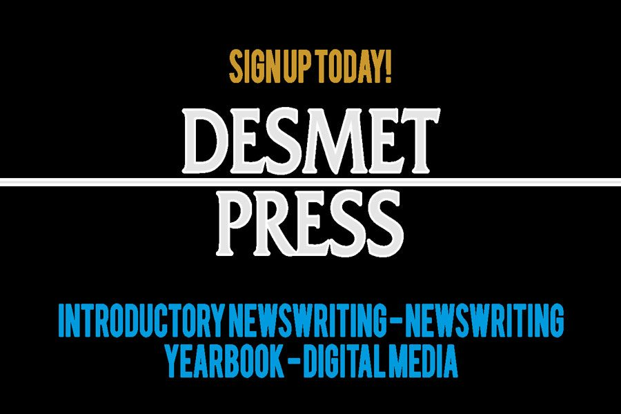 Find out why the De Smet Jesuit publications department might be right for you. See your counselor or Mr. Berns in room 212.