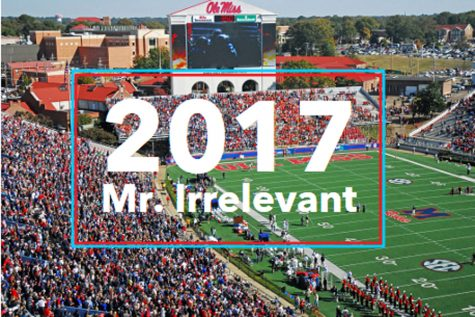 The new Mr. Irrelevant should stay irrelevant