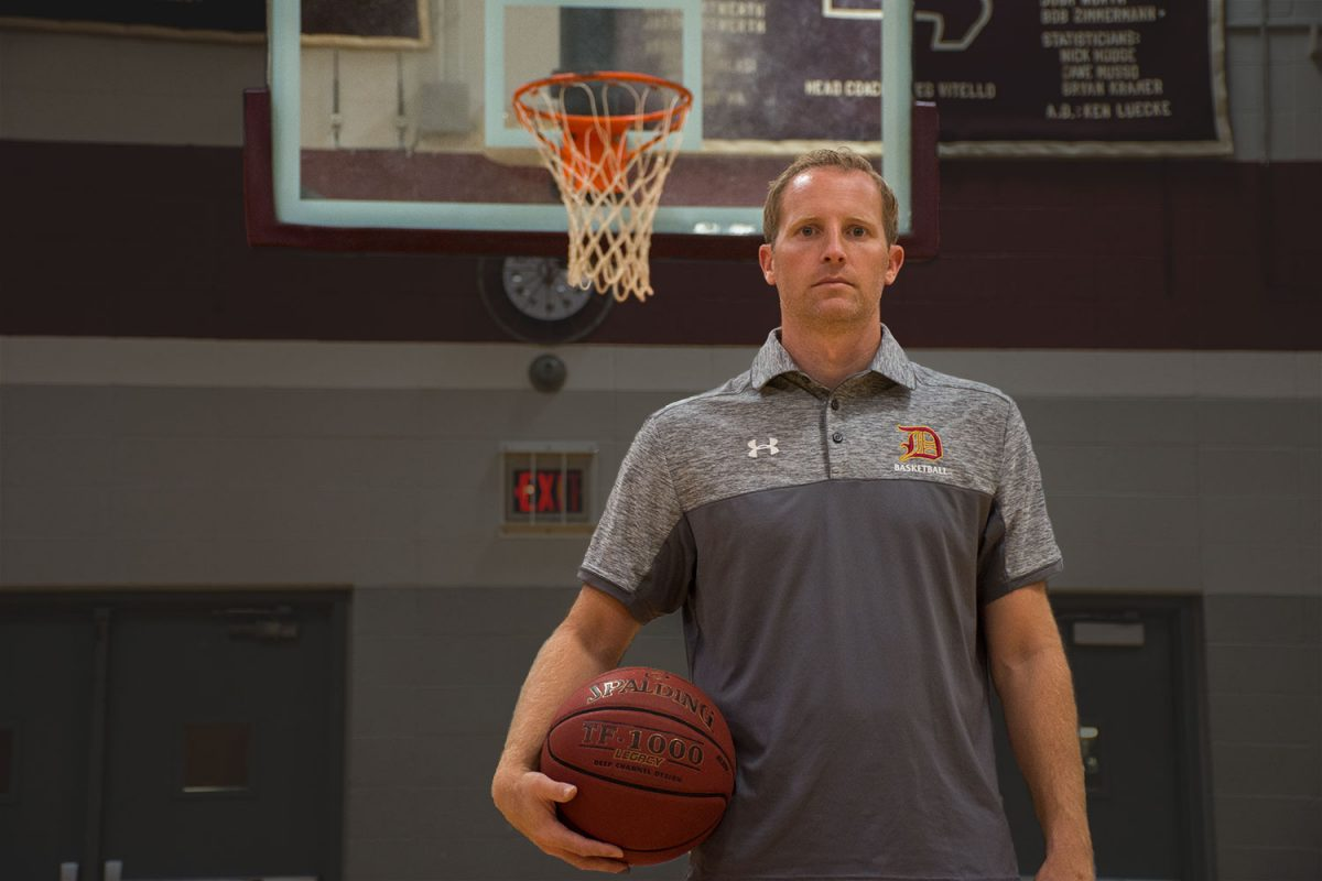 A fresh face for the basketball program
