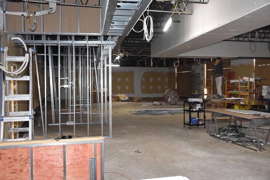 The progress of the new Innovation Center so far.