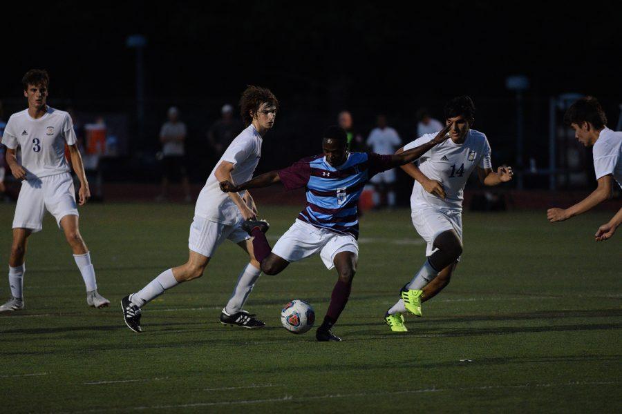 Slideshow of varsity soccer versus Hickman