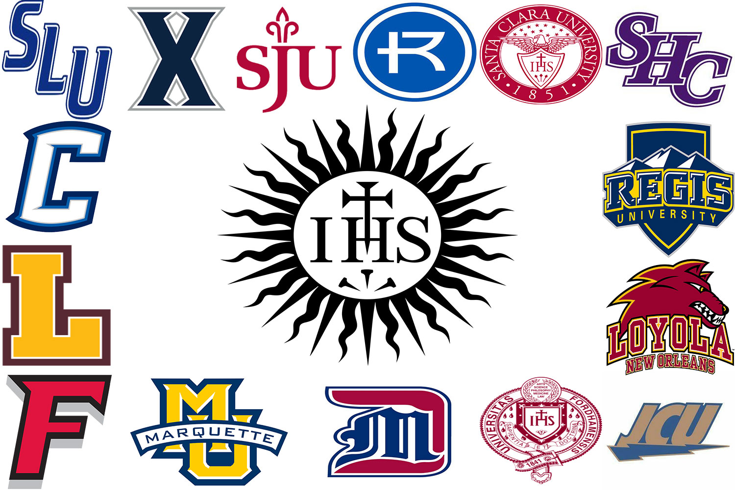 These 15 Jesuit universities will be visiting school Tuesday Sept. 18.