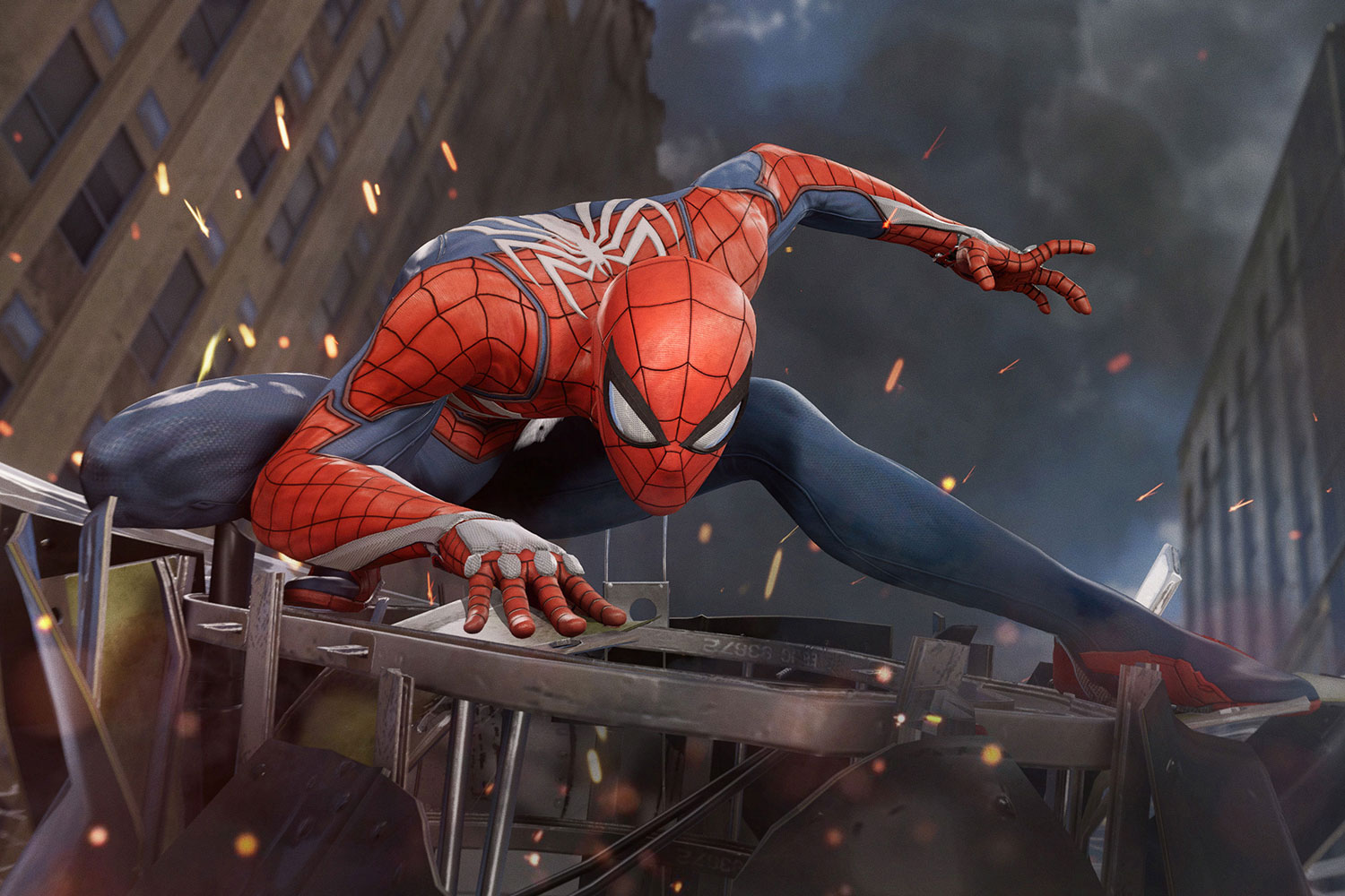 Marvel's Spider-Man by Insomniac Games is now available for PS4.