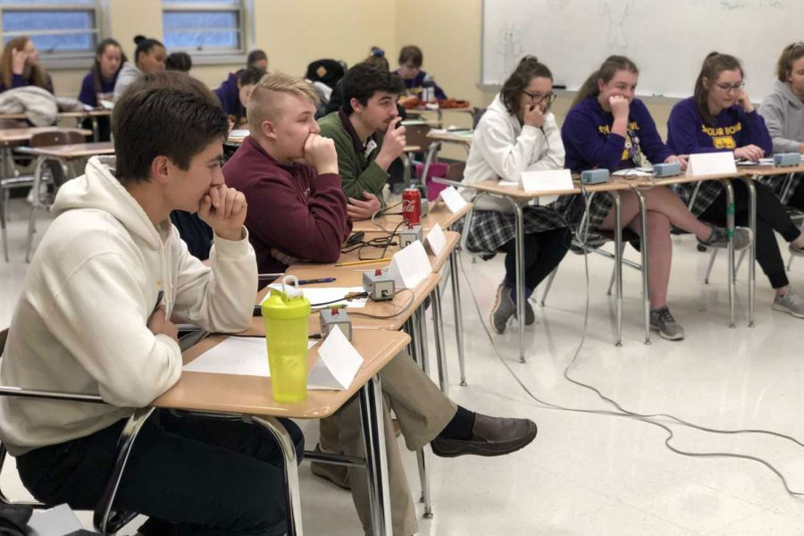 De Smet Scholar Bowl prepares for home Invitational Meet