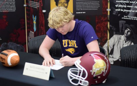 football – NATE MARTENS – University of Northern Iowa