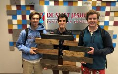 Student-made crosses to be sold at Catholic Supply Store