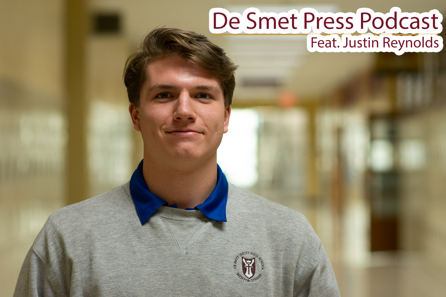 Chatting with De Smet Student Body President, Justin Reynolds, about his senior year.