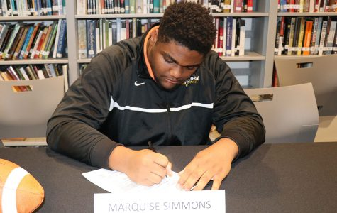 football – MARQUISE SIMMONS – Missouri Western