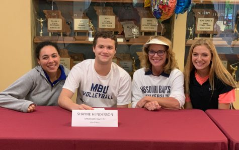 volleyball – SHAYNE HENDERSON – Missouri Baptist University