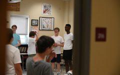 Freshmen bond at summer retreat
