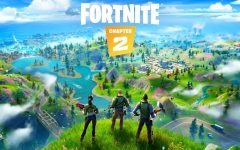 Gamers in awe of Fortnite Chapter 2