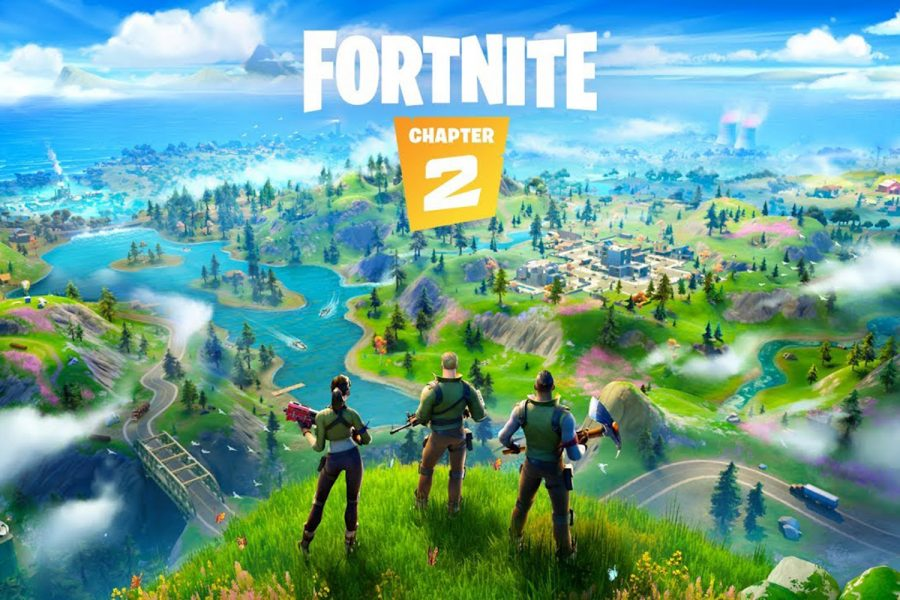 Fortnite Chapter 2 released to all players on Oct. 15th. Changes included a new map, new guns, and new points of interest.