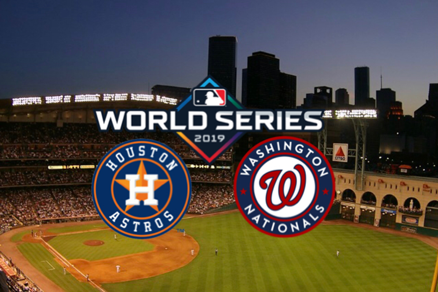 The World Series began on Tuesday Oct. 22, 2019. Every game was won by the away team.