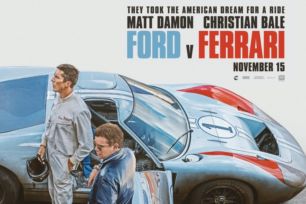 Ford v Ferrari released to theaters on Nov 15, 2019.