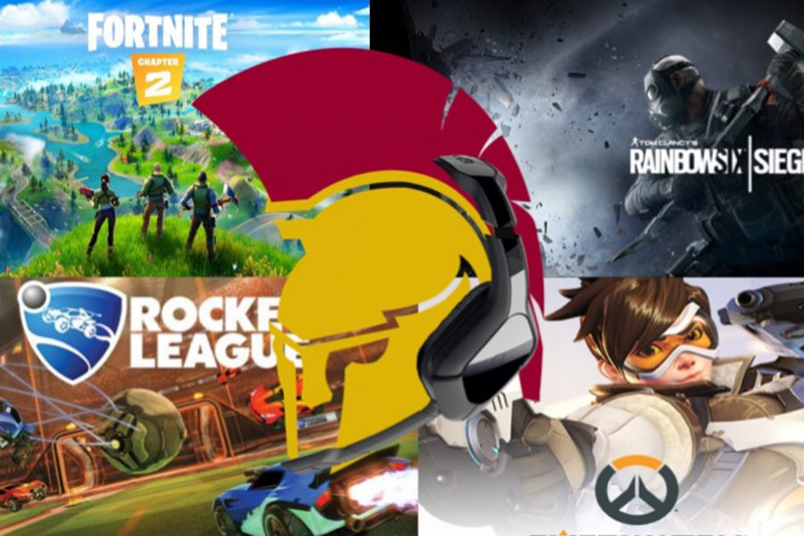The new De Smet Esports club will features games like Fortnite, Rainbow Six Siege, Rocket League, and Overwatch.