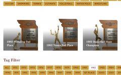 A virtual trophy room