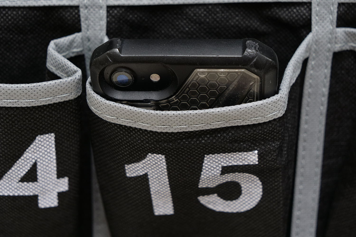 Teachers are beginning to crack down on phones not being in the pouches.