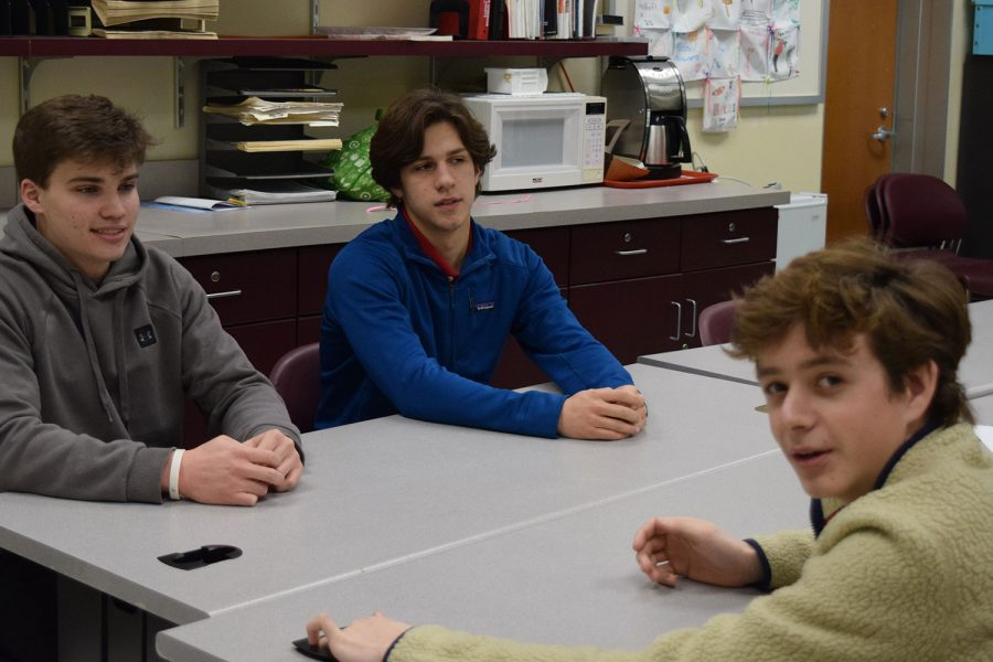 Carson Schieber, Jackson Daesch, and Ryan Moore talk Theban plays by ancient Greek author Sophocles.