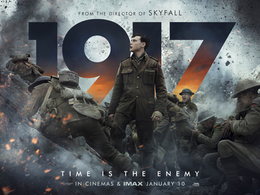 """1917"" is an action-packed movie about World War I that takes place in France."