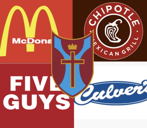 A survey was sent out to faculty and students regarding what they think the best fast foods are.