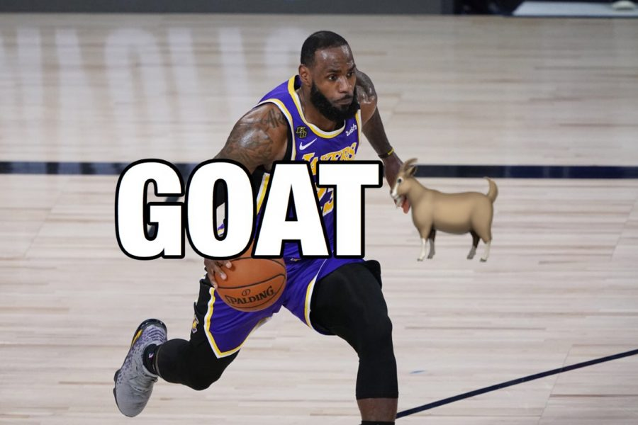 LeBron James is the GOAT