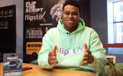 Akeem Shannon 10 introduces himself on his YouTube channel and talks about the futuristic NASA technology that helped him start his business Flipstik.